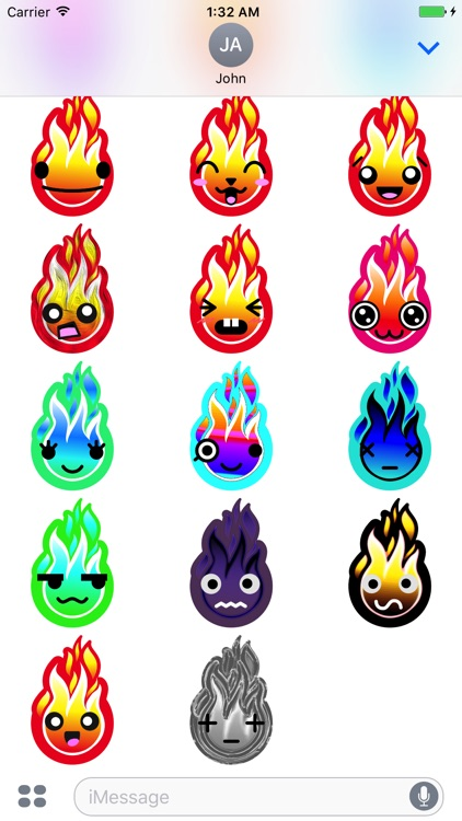 FIREMOJI - Hot Fire Flame Emojis