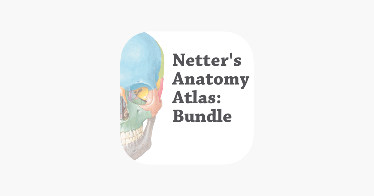 Netters Anatomy Atlas Bundle On The App Store