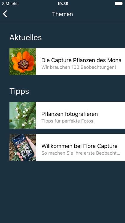 Flora Capture