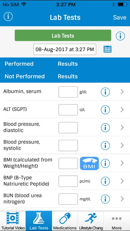 Track My Health screenshot-0