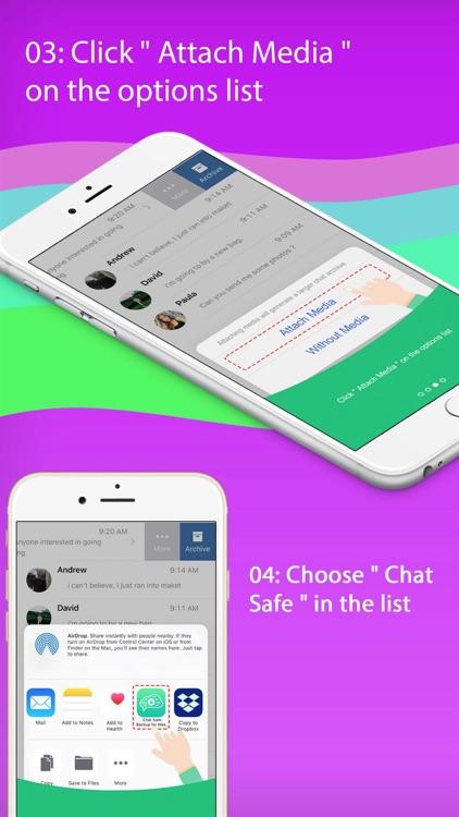 Chat Safe: Backup for Messages screenshot-6