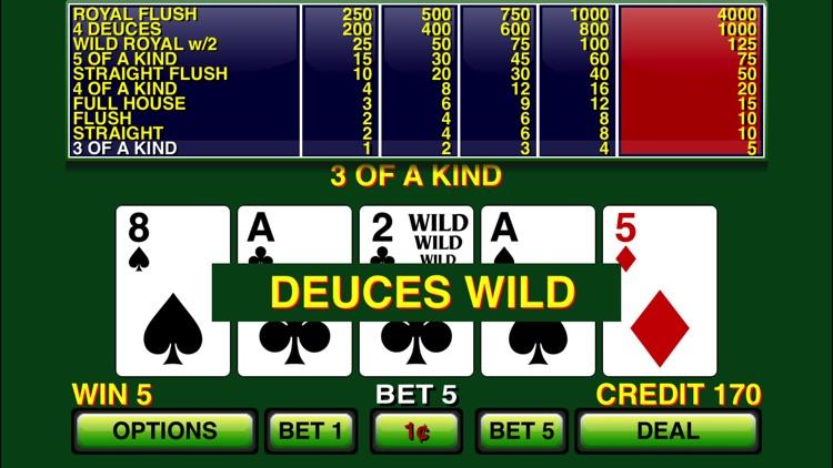 Video Poker ⋆ Deuces Wild