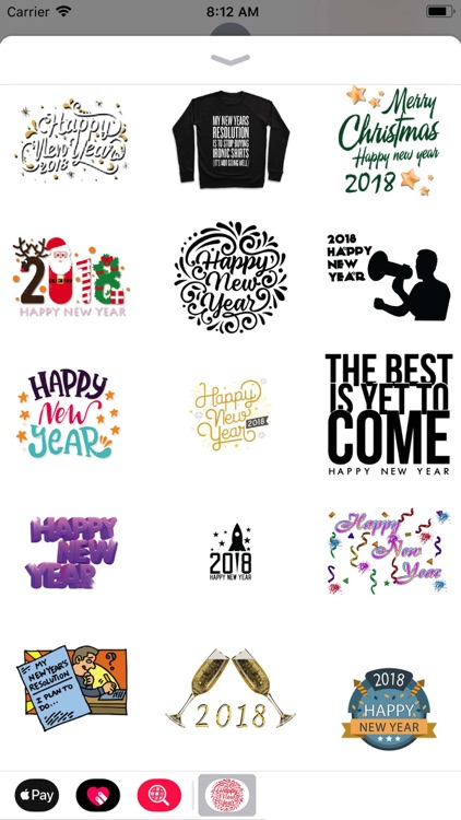 New Year Wishes Animated Pack by Asif Mohd.