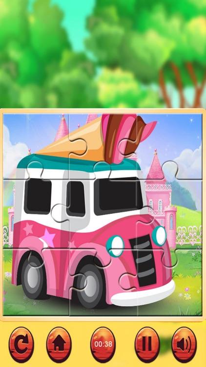 Vehicle Jigsaw Puzzle PRO screenshot-3