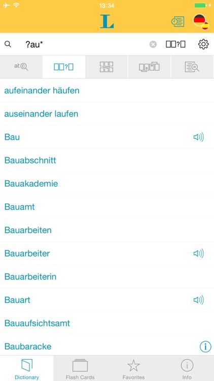 German Spanish XL Dictionary screenshot-3