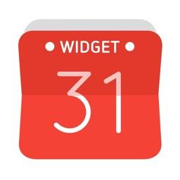 Widget Calendar : Easy&Simple