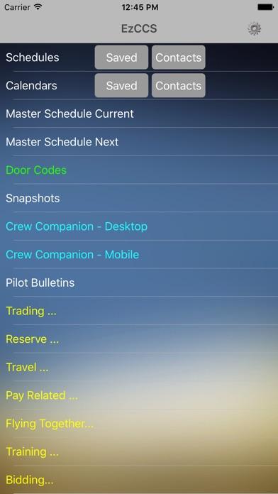 EzCCS Screenshot