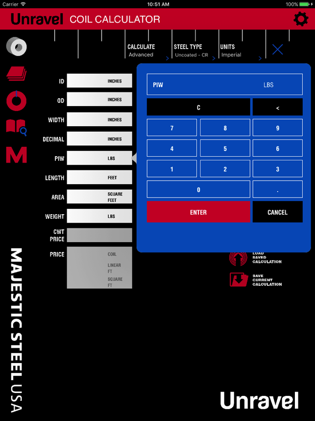 Unravel: Steel Calculator on the App Store