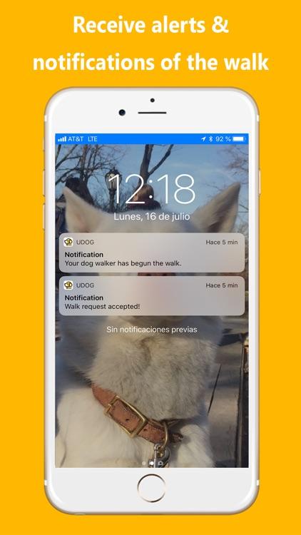 UDog On Demand Dog Walking App screenshot-3
