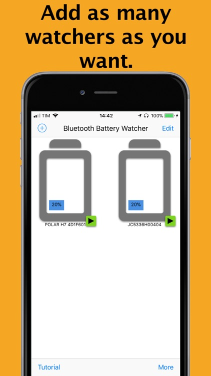 Bluetooth Battery Watcher