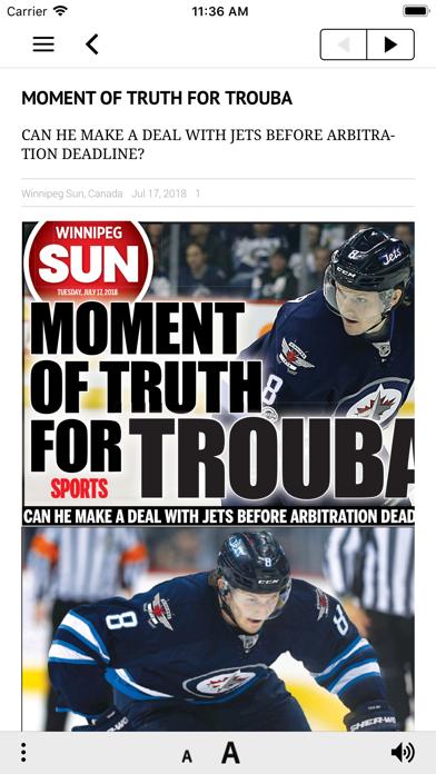 Winnipeg Sun ePaperScreenshot of 5