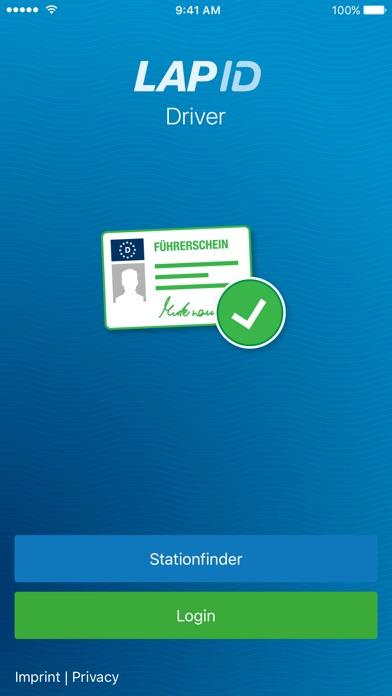 LapID Driver screenshot one