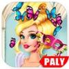 化妆舞会 - 芭比公主娃娃化妆游戏