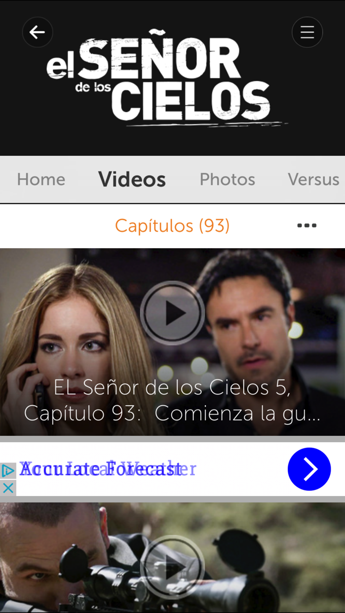 Telemundo Novelas Screenshot