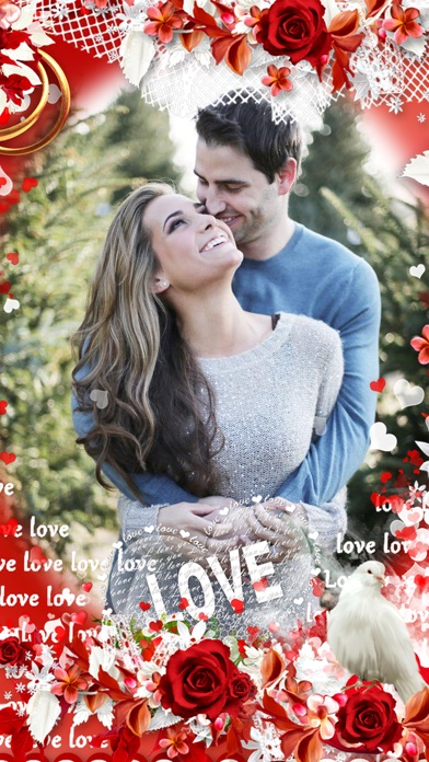 Romantic Love Photo Frame screenshot three