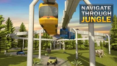Elevated Train Simulator 3D screenshot two