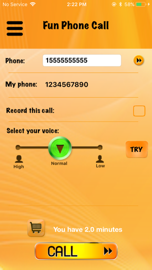 Fun Phone Call - IntCall on the App Store
