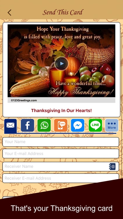Thanksgiving Cards & Wishes