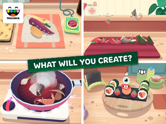 Toca Kitchen Sushi screenshot 8