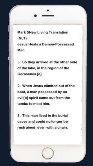 audio bible nlt on the App Store
