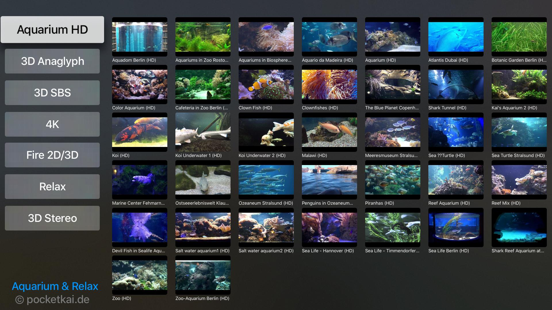 Aquarium & Relax screenshot 1