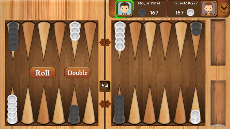Backgammon : Multiplayer Game screenshot-1