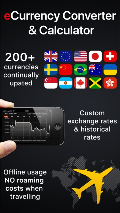 eCurrency - Currency Converter Screenshots