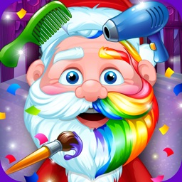 Santa Hair Salon Christmas Spa
