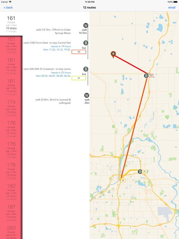Grand Rapids Transport Guide screenshot 8