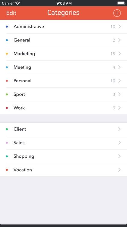GTD Office: Tasks & Calendar screenshot-6