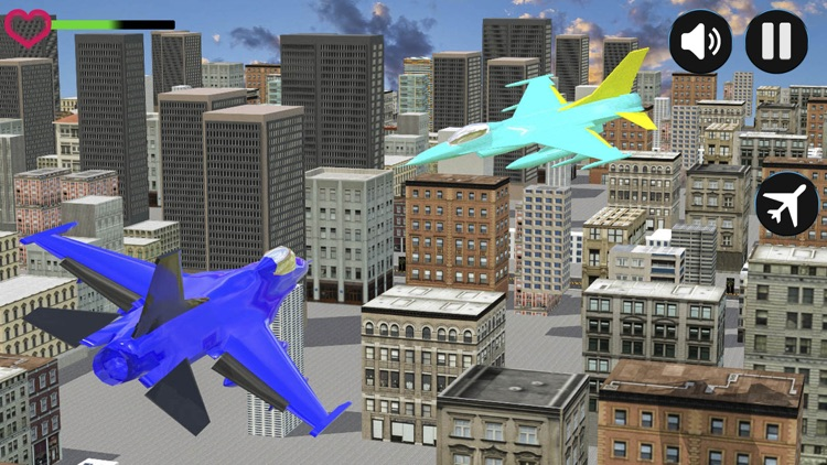 police robot aircraft war screenshot-3