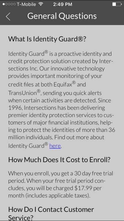 Identity Guard - Canada screenshot-4