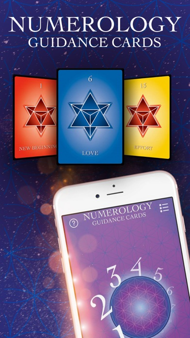 Numerology Guidance Cards screenshot 1