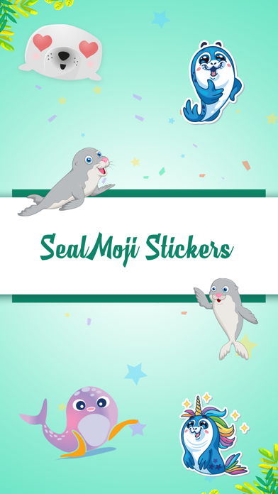 Seal Animated Stickers Pack