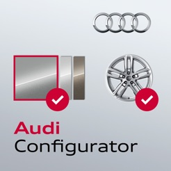 audi configurator uk on the app store. Black Bedroom Furniture Sets. Home Design Ideas