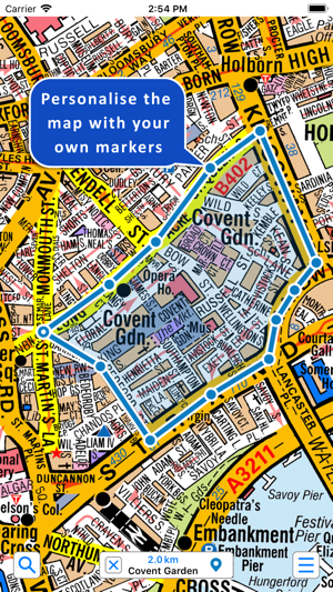 Az Street Map Of London.Greater London A Z Street Map