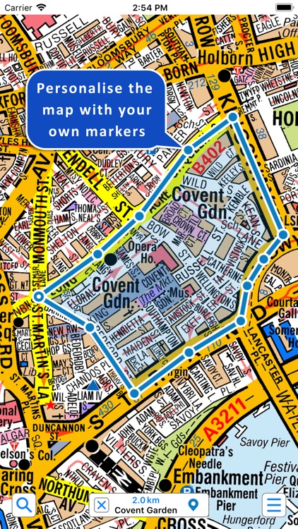 Greater London A-Z Street Map screenshot-2