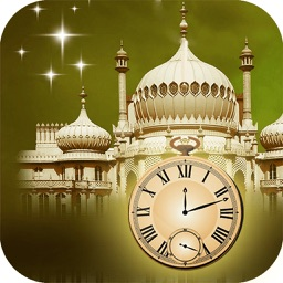 Muslim Prayer Times with Qibla Direction