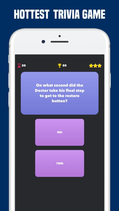 Quiz for Doctor Who Fan Trivia screenshot four