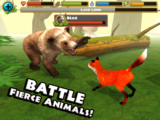 Игра Fox Simulator