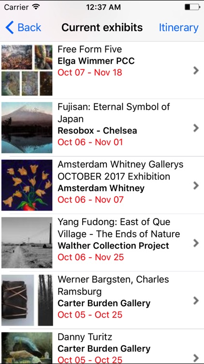 Chelsea Gallery Map screenshot-1