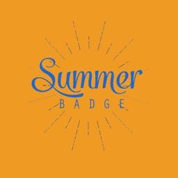 Cool Summer sticker pack