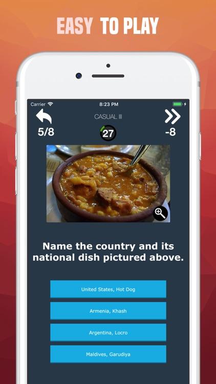 National Foods Quiz - Guess screenshot-3
