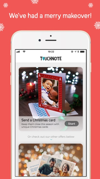 TouchNote: Postcards & Gifts screenshot-0