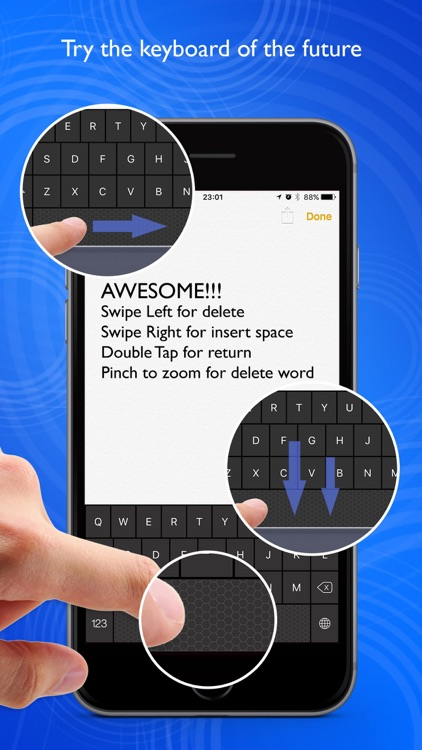 Swipe Keyboard Simple