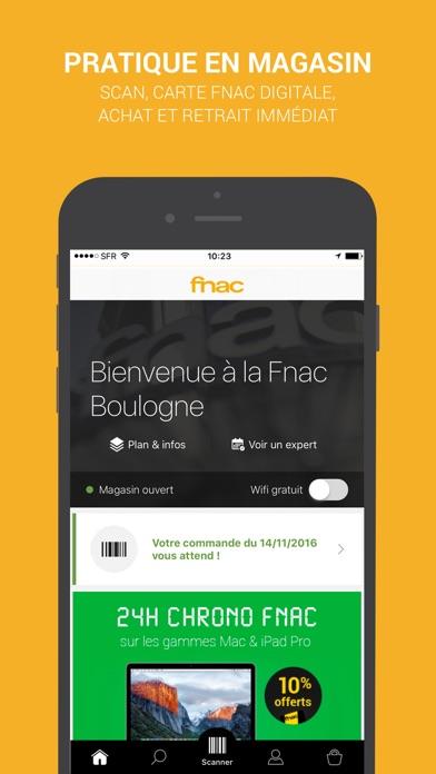 fnac achat en ligne app report on mobile action. Black Bedroom Furniture Sets. Home Design Ideas