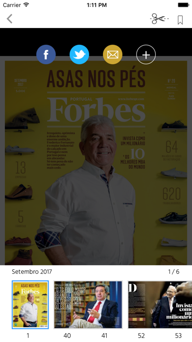 Forbes Portugal screenshot two