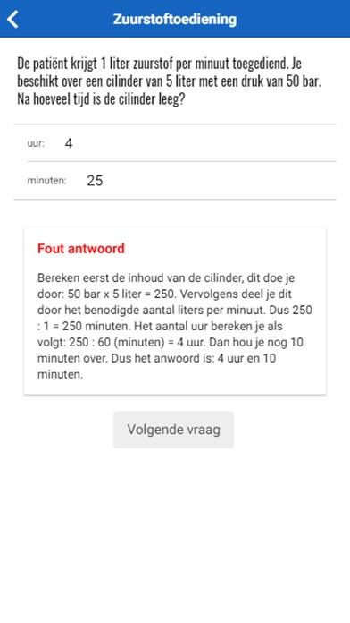 Toets Verpleegkundig Rekenen screenshot 5