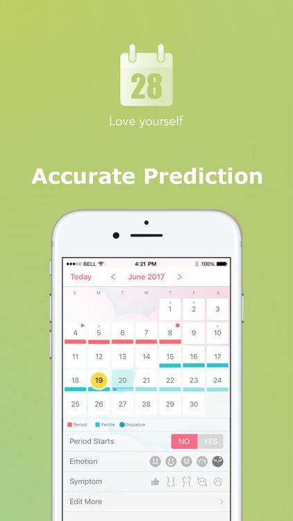 Period Tracker by PinkBird screenshot-3