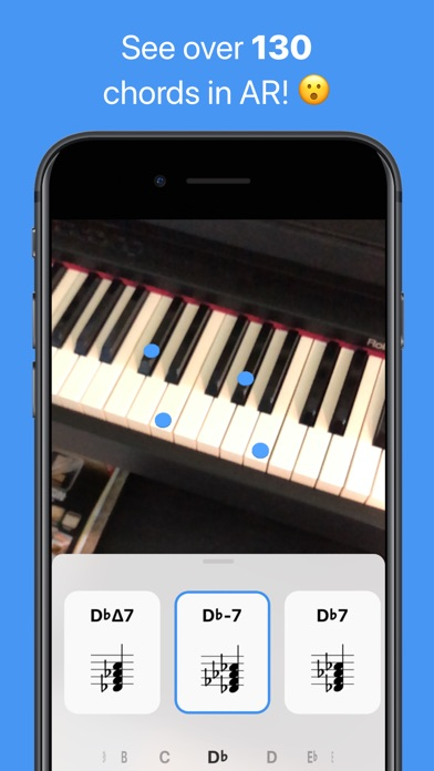 Tonic - AR Chord Dictionary Screenshots